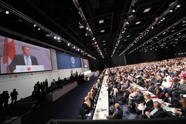 哥本哈根气候峰会开幕