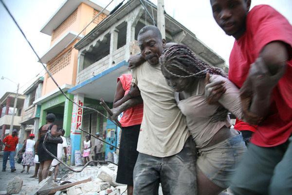 海地发生7级强烈地震