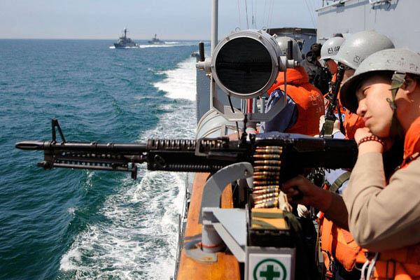 韩国海军举行针对朝鲜反潜艇演习