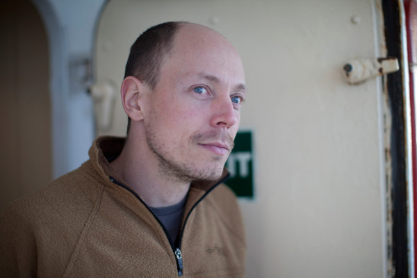 无线电报务员。 Greenpeace International _北极纪行之三