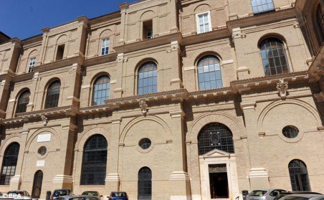 梵蒂冈图书馆图片
