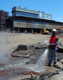 中钢在ASA项目上的总投入大约3.5亿美元