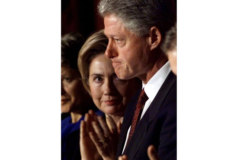 比尔·克林顿是美国史上第二个在性丑闻曝光后被 ...