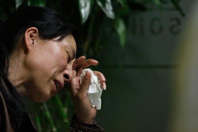 2011年5月11日,夏俊峰的妻子表示,为保丈夫一命,将继续申诉。詹敏/东方IC
