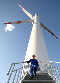 华能新能源手中还握有73.46吉瓦(相当于7346万千瓦)的风电储备项目,这在中国风场运营商中是最多的。蔡增乐/CFP