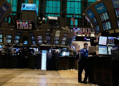 纽约证券交易所在金融危机后降低了对盈利的要求,吸引了不少中国互联网企业IPO。Chris Hondros/Getty Images