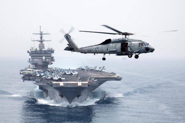 美国企业号重型核动力航空母舰。 CFP  _全球现役航母一览 美国超半数