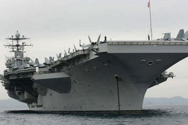 美国杜鲁门号重型核动力航空母舰。 CFP  _全球现役航母一览 美国超半数
