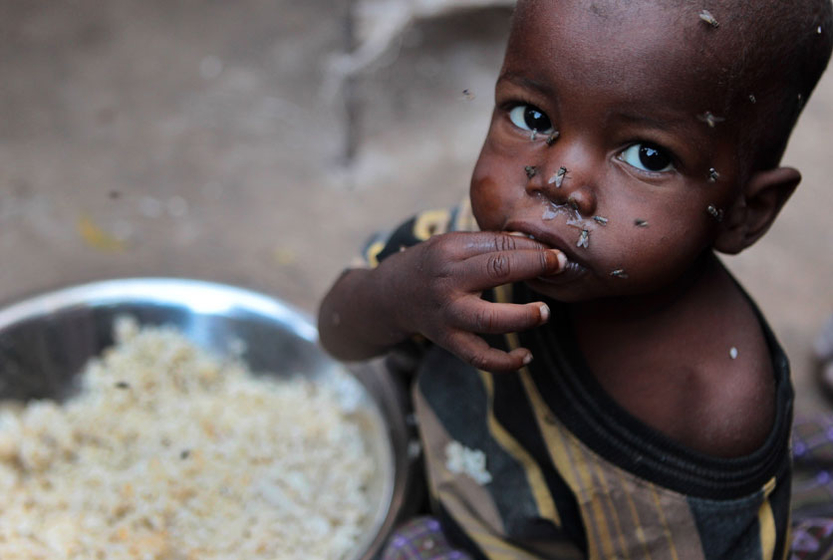 非洲之角遭遇最近60年不遇的罕见旱情,持续数月的粮食危机不断恶化图片
