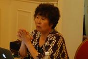 中国疾病预防控制中心副主任、国家控烟办公室主任、中国控制吸烟协会副会长杨功焕