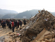 Ten Killed in Hunan House Collapse