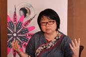 """澳门大学在读博士、前南都调查记者、本地性别平等倡导组织""""广州新媒体女性网络""""召集人李思磐"""