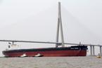 40万吨淡水河谷矿砂船终进中国 扫清制度障碍