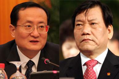 拼接图:徐松南(左)和陈存根.