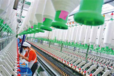 出口退税对纺织、服装行业影响极大。