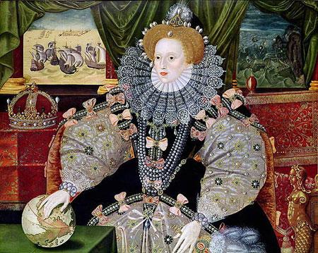伊丽莎白一世女王像