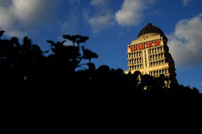 位于上海浦东的平安大厦。