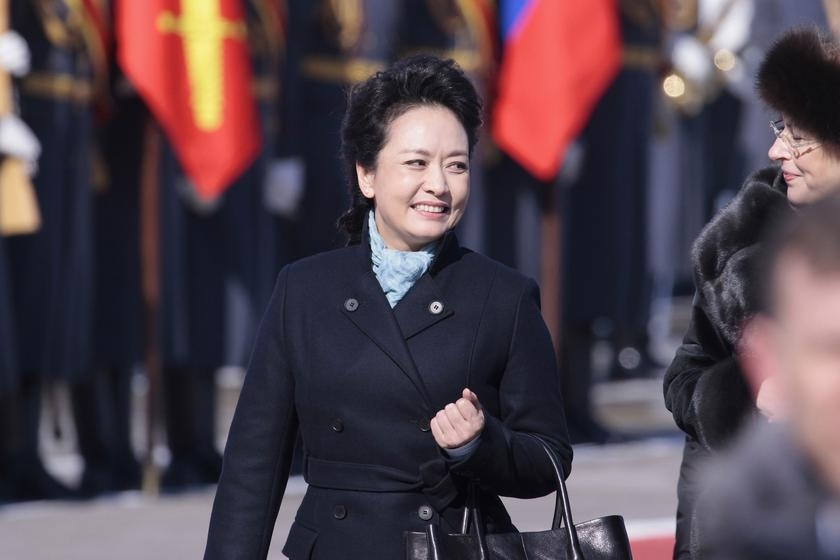 Peng accompanies President Xi on his first state visit to Russia on March 22