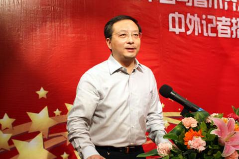 """6月14日,海关总署举行中共十八大精神和""""中国梦""""宣讲报告会,胡伟以""""署"""