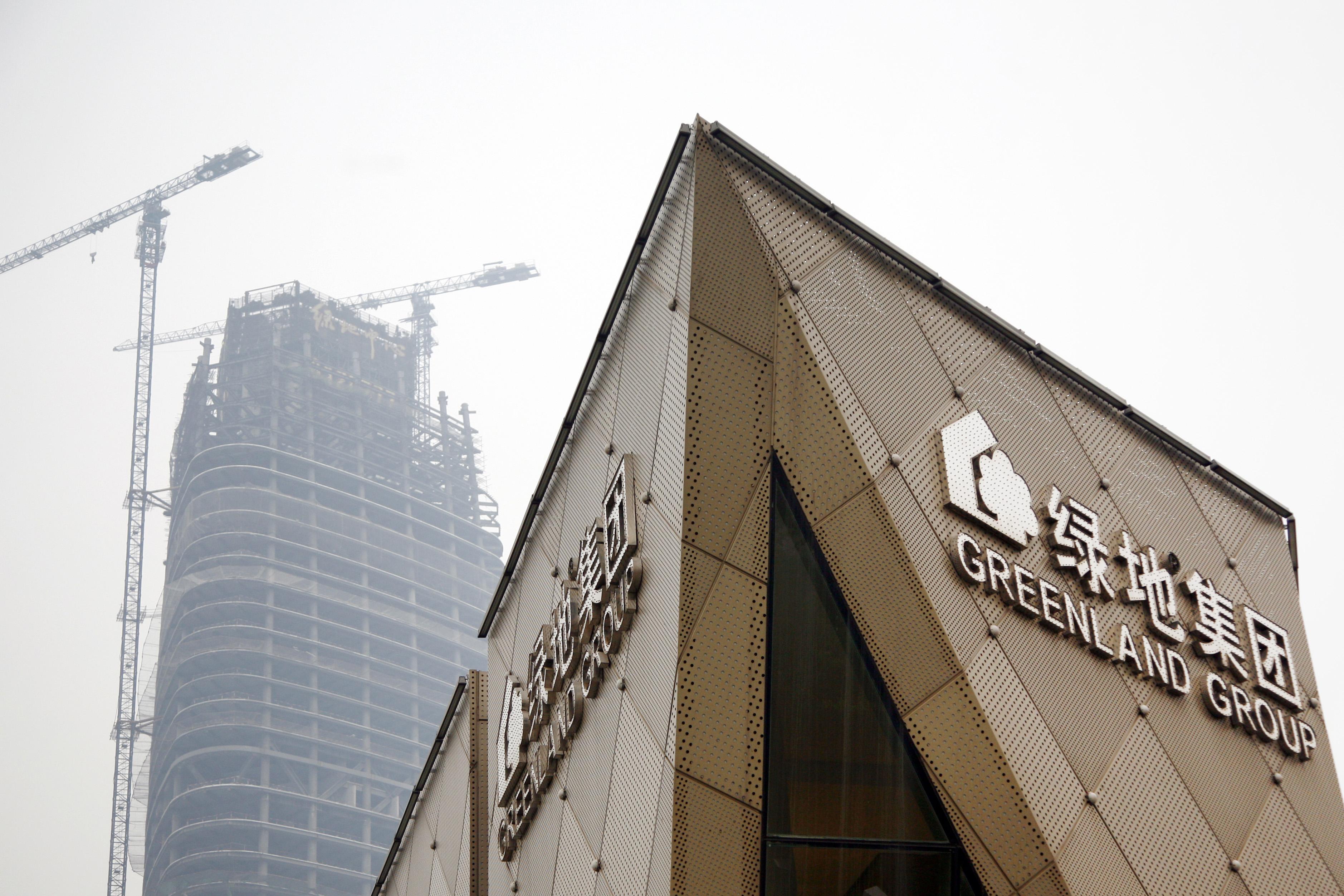 绿地集团60亿元投资韩国济州双子塔