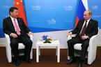 习近平普京会晤 中俄签五协议