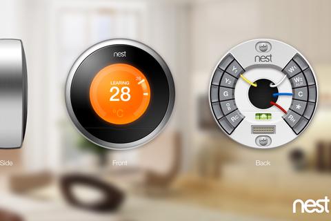 nest智能温控器.