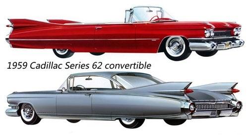 凯迪拉克series62 1959 汽车设计的黄金年代高清图片