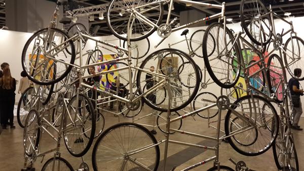 自行车风景艺术图片大全