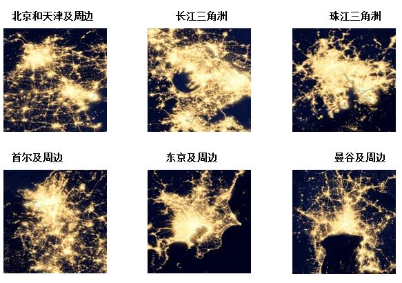 世界夜晚卫星地图_城市为何拥挤——北京该不该严控人口(一)_观点频道_财新网