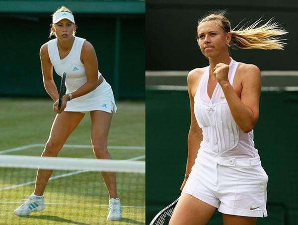 网球运动的时尚情缘图片