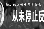 杨小凯逝世十周年