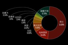 马航MH17上298人国籍确定:荷兰人超六成