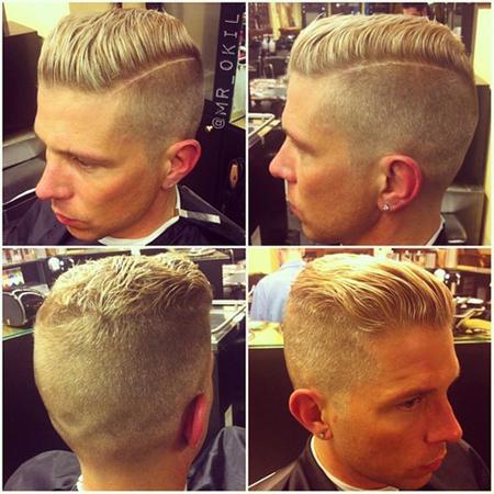 试试最新潮的Quiff发型