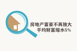 房地产富豪不再独大 平均财富缩水5%