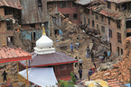 尼泊尔地震劫