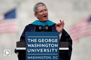 苹果CEO库克:做改变世  界的人