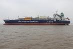 """中国造""""龙型船""""将美国页岩气运到欧洲"""