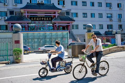 """有不少人曾经带孩子来到北京国济中医医院进行价格不菲、见效甚微的""""BNP""""生物治疗。王诗堃 摄"""