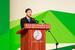 汪洋出席第五届库布其沙漠论坛