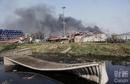 天津爆炸首日目击