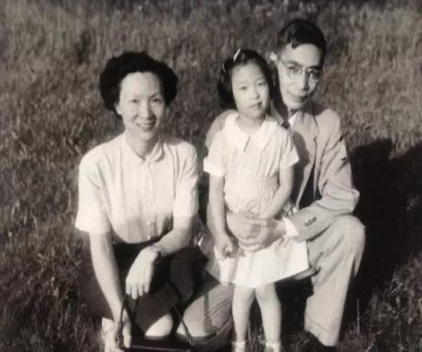 郭永怀一家1953年在美国。