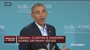奥巴马:相比桑德斯我更了解希拉里