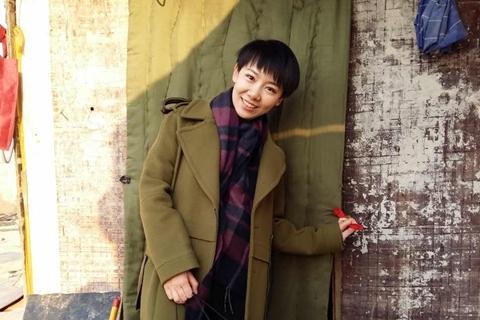 2016年2月,王嫣芸在宋庄。 作者供图