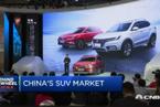 """中国SUV市场的""""土洋之争"""""""