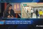 穆迪:担忧中国债务风险