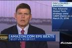 亚马逊业绩远超预期 云服务表现抢眼