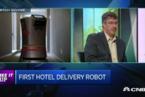 创业公司打造酒店服务机器人