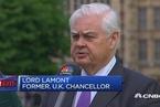 英国前财政大臣:是不是欧盟成员国不会影响英国贸易
