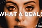 索尼拟1.3亿美元签下阿黛尔独家版权