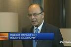 印度财长:英国退欧不会打击印度经济